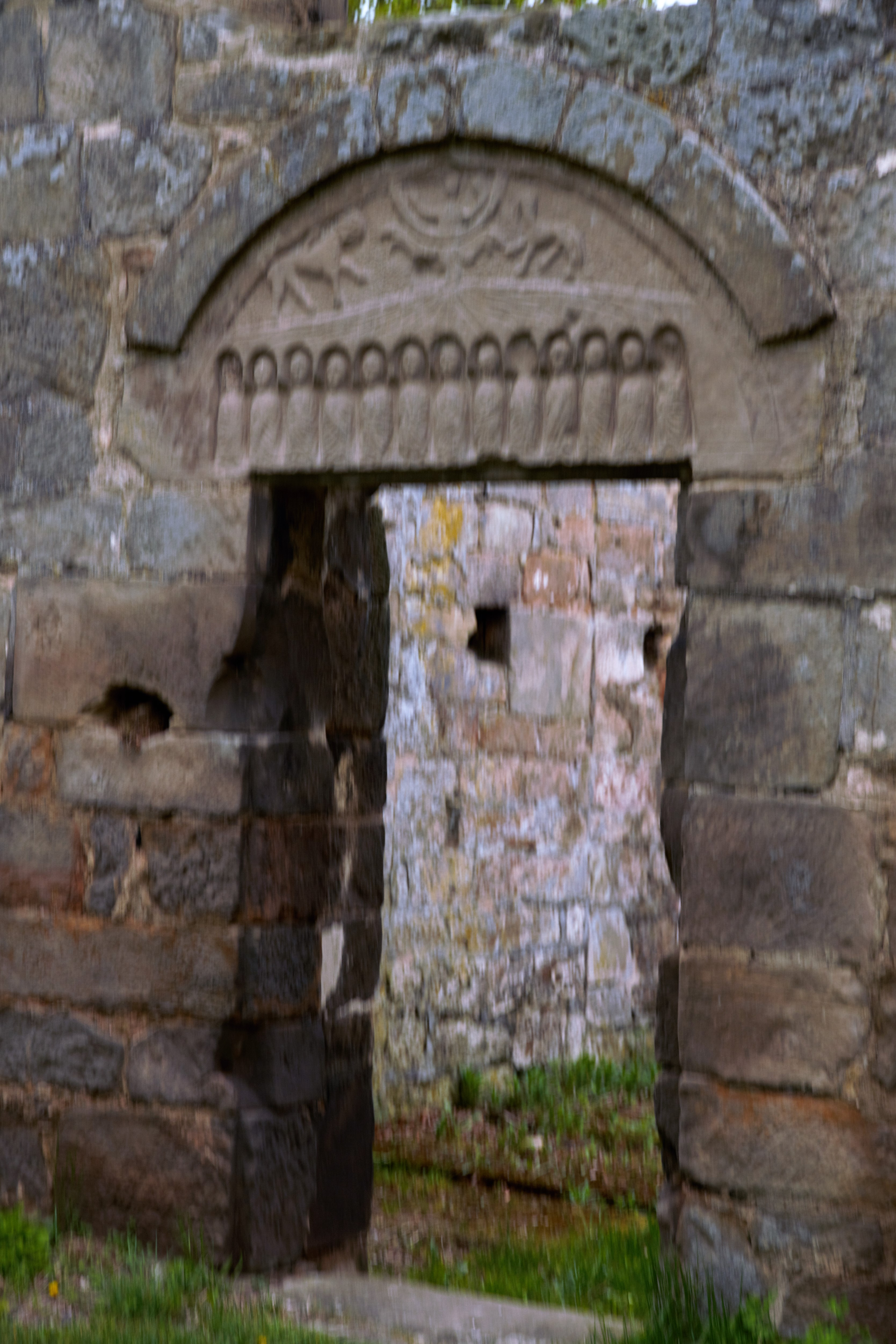 Portal Kirchenruine Alt-Rhoden