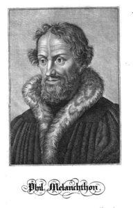 Portrait Melanchthon